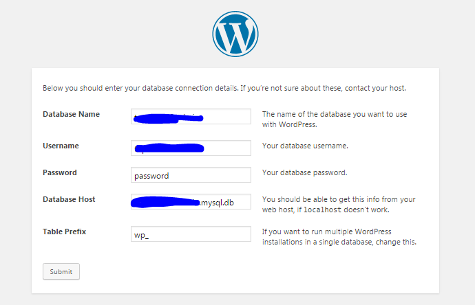 configuration-de-wordpress