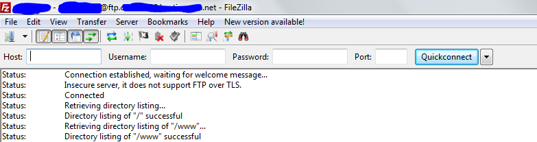wp-filezilla-manuellement